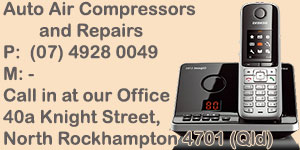 All Auto Air Compressors - Servicing Rockhampton and Australia wide - for all your auto air compressor needs